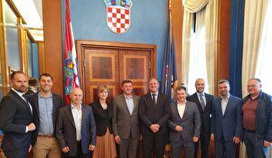 Delegacija iz Brovarya u Zadru